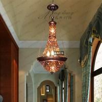 Southeast Asian Thai style bar cafe Mediterranean Bohemia Restaurant crystal pendant lights LO7285