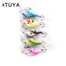 TUYA fish college Baitball Fishing lure Wobbler Minnow 7cm 12.3g Jerkbait 3D eyes Laborious Synthetic Bait Bass Full Swimming Layer