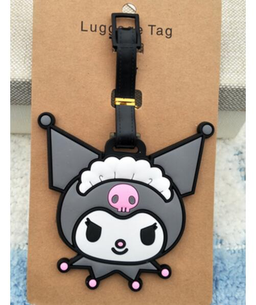 my melody evil couple Luggage Tag Popeye PVC Pendants Portable Travel Label Fujiya Co milk girl Suitcase ID Address Holder tags