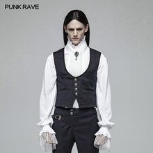 PUNK RAVE Mens Vest Gentleman Retro Style Gothic Punk Victorian Palace Fashion Evening Party Formal Jacket Waistcoat