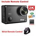 Frete Grátis! Gitup Git2 Novatek 96660 1080 P Wi-fi 2 K Câmera de Ação de Esportes Ao Ar Livre + Controle Remoto Pulso