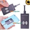 De alta calidad android universal cargador inalámbrico receptor inalámbrico de carga para samsung xiaomi huawei meizu con importic