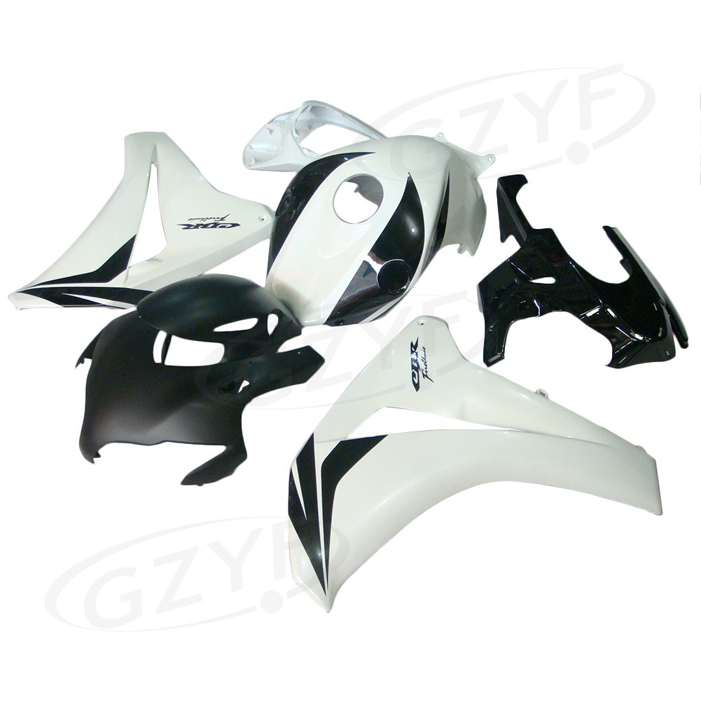 Injection Mold ABS Plastic Fairing Set Body Kits for Honda CBR1000RR 2008 2009 2010 2011 Black White arashi motorcycle radiator grille protective cover grill guard protector for 2008 2009 2010 2011 honda cbr1000rr cbr 1000 rr