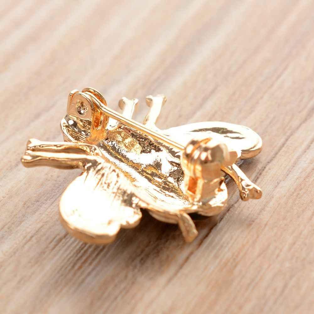 Broches de cristal de cristal de strass broche de esmalte broches de jóias presentes para mulheres