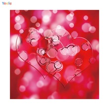 Yeele Love Heart Girls Baby Newborn Wedding Photography Backgrounds Personalized Photographic Backdrops Props For Photos Studio