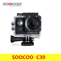 Original SOOCOO C30 Action Camera 4K Gyro Wifi Adjustable Viewing Angle 170 Degrees 2.0 LCD NTK96660 30M Waterproof Pro Camera