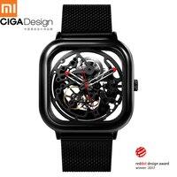 Для Xiaomi Mijia CIGA дизайн Смарт часы Мужские механические наручные часы Reddot Модные Роскошные автоматические часы H22 smartwatch