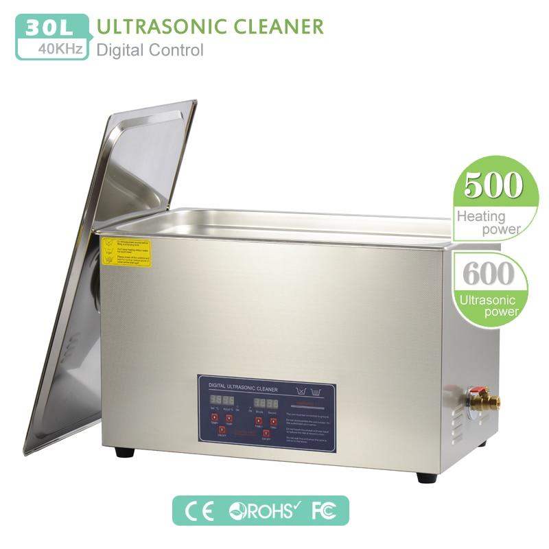 Nettoyeur A Ultrasons 30L Ultrasonic Cleaner Professionnel Nettoyeur Digital Affichage Ultrasonique 30L