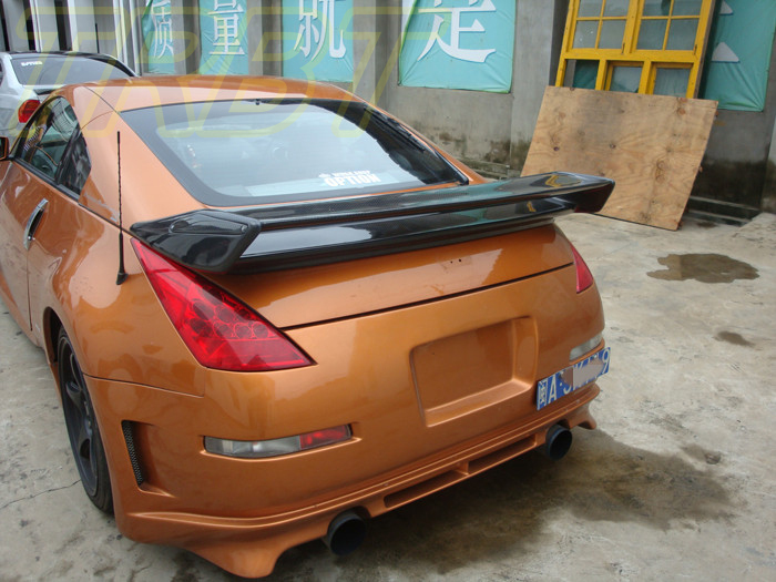 350z nismo fiber de carbone aileron arri re fairlady z33 tronc aile grand spoiler pour nissan. Black Bedroom Furniture Sets. Home Design Ideas