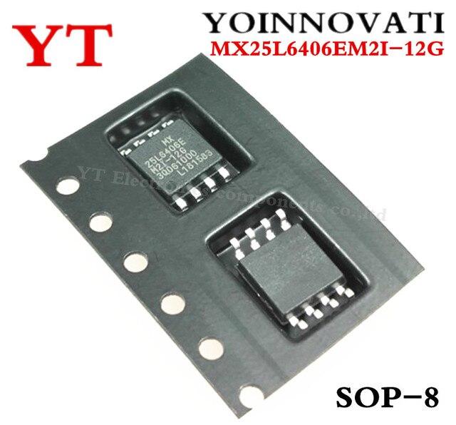 50 개/몫 MX25L6406EM2I 12G 25L6406E MX25L6406E MX25L6406EM2I 플래시 64MBIT 86MHZ 8SOP 최고의 품질.