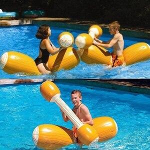 4 Pcs Water Toys Inflatable Ki