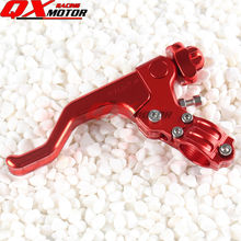 CNC Alloy Short Stunts Clutch Lever For CR CRF XR XL CRM 125 150 230 250 400 450 Dirt Bike MX Motocross Off Road Motorcycle