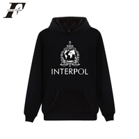 LUCKYFRIDAYF 2017 INTERPOL Punk Band Harajuku Hoodies sweatshirt Printed casaco Cotton Men/women Cap moletom Casual streetwear