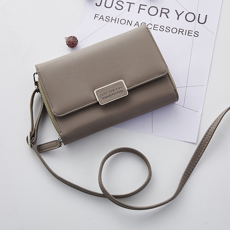 Fashion Women Messenger Wallet Small Crossbody Bags Girls Purse Multiple Cards Holder Phone Pocket Female Standard Wallets
