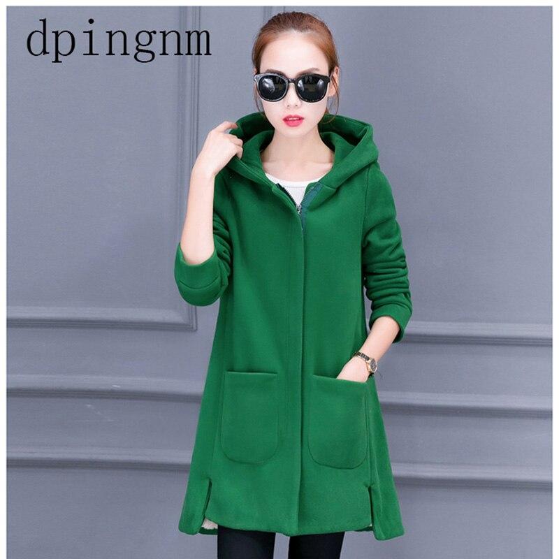 Mode femmes solide sweats à capuche zippés sweat à capuche à manches longues automne hiver manteau hauts 2190
