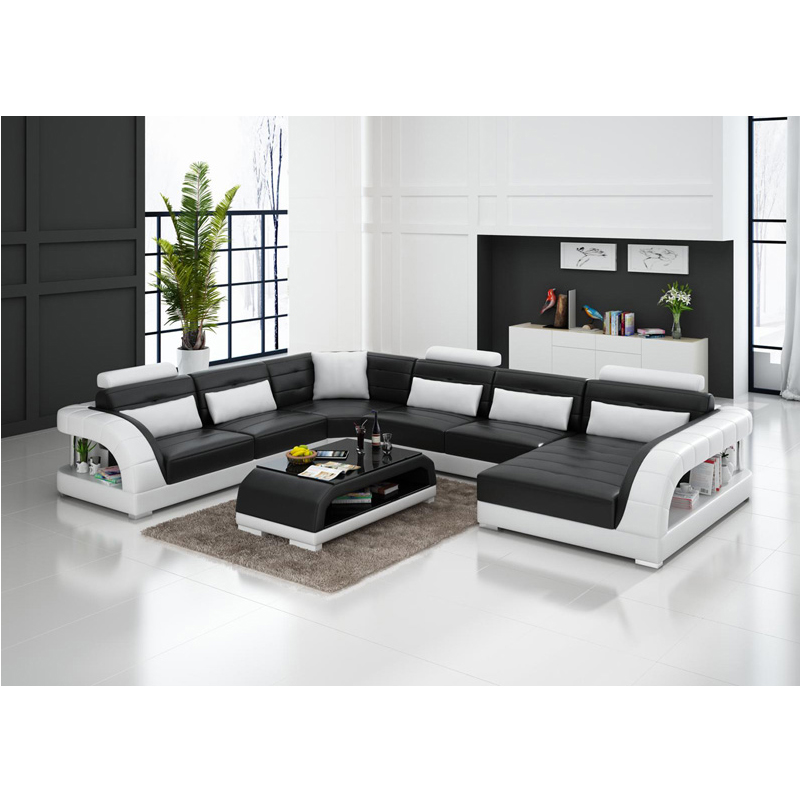 Us 1599 0 Online Drawing Room 5 6 Seater Leather Solid Teak Wood Sofa Set In Living Room Sets From Furniture On Aliexpress 11 11 Double