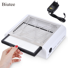 Biutee 40W New Strong Power Nail Dust Collector Nail Fan Art Salon Suc