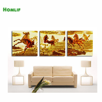 HOMLIF Home Beauty 3d Diy Full Diamond Painting Embroidery Kits Crystal Rhinestone Picture Diamond Mosaic