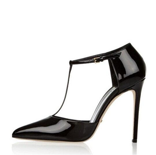 Femme Sangle Noir Sexy Mince Bout De Pointu Chaussures Découpe Stiletto Pour Vente Boucle Talon Talons T Robe Apopeo strap Chaude Haut xR8nqfRpO