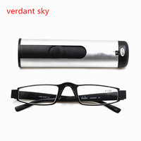 Luxury Classic Reading Glasses Men Metal Presbyopia Eyewear For Women Design Fashion Comfortable TR90 Frame For