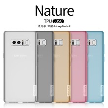 TPU Case For Samsung Galaxy Note 5 Nillkin Nature Series Galaxy Note 5 Note5 N920 Back Cover Case With Screen Protector