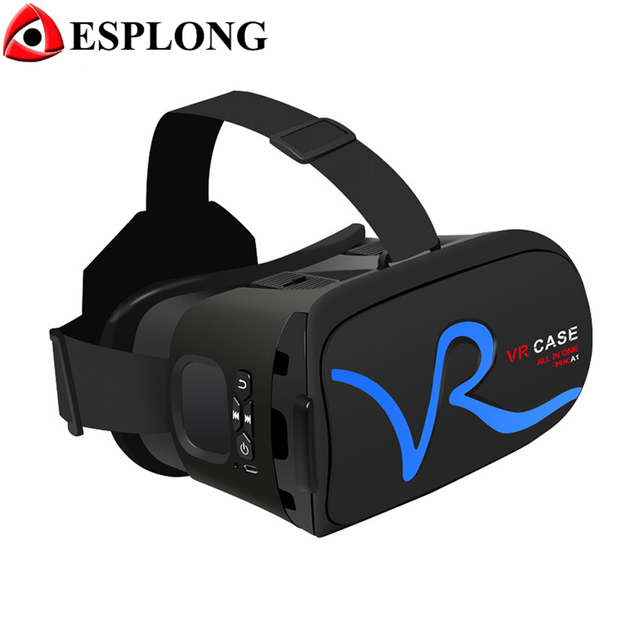 "Hot Sale New VR CASE ""RK-A1""VR BOX 3.0 PK Bobovr Z4,Replace VR Box 2.0 Virtual Reality 3D Glasses Physical Buttons Touch Mouse"