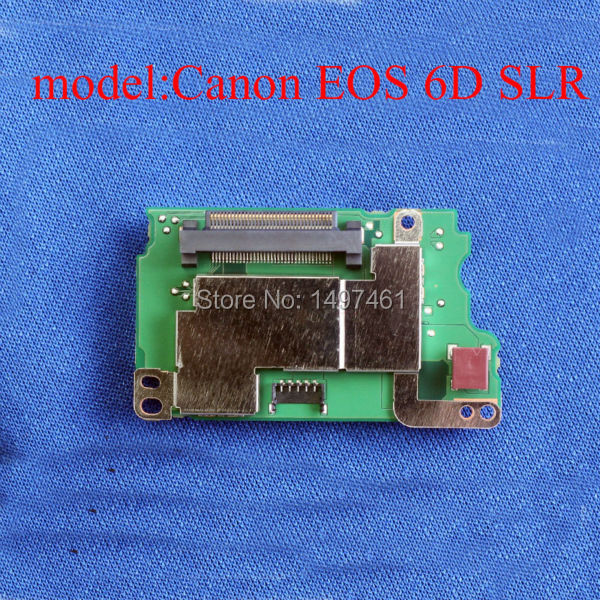 цены  New Original shoulder DC Power Supply board PCB Repair parts for Canon EOS 6D ; DS126402 SLR