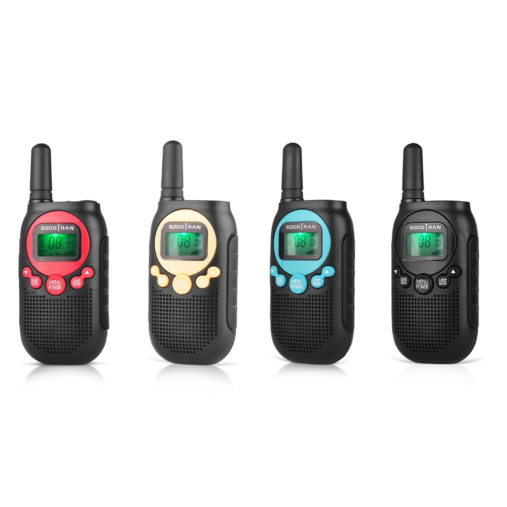 PMR446 Kids walkie talke licence free kids two way radio 0.5W 8CH VOX Radio w/ privacy code &rechargeable battery 2 Pair-in Walkie Talkie from Cellphones & Telecommunications