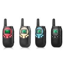 лучшая цена PMR446 Kids walkie talke licence free kids two way radio 0.5W 8CH VOX Radio w/ privacy code &rechargeable battery 2 Pair