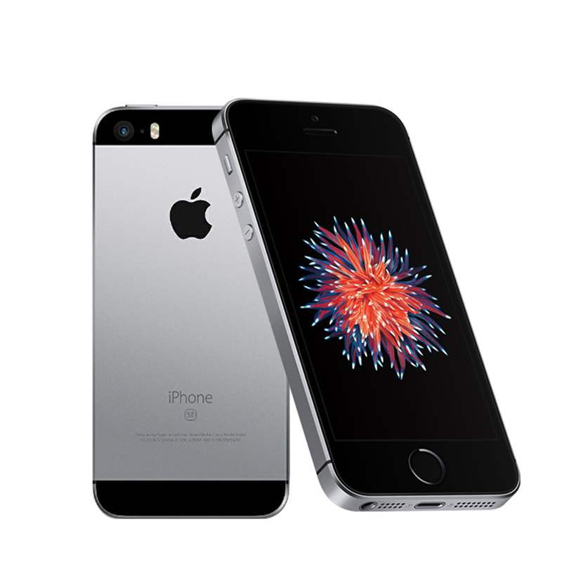 Unlocked Original Apple Iphone SE Dual Core 2G RAM 16/64GB ROM 4G LTE Mobile Phone Ios Touch ID Chip A9 4.0