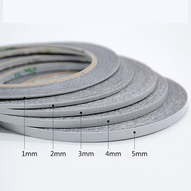 """1 יחידות קצף דו צדדי קלטת LCD נייד טלפון מחשב תיקון מגע מסך מראה אבק הוכחה איטום דבק קלטת 0.3 מ""""מ * 10 m"""