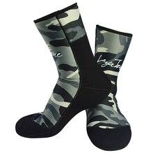 Мм 9 мм неопреновые носки для дайвинга мужские камуфляжные пляжные ботинки для подводной рыбалки для подводного плавания сохраняющие тепло Нескользящие