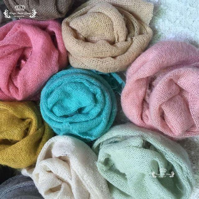 100*160 cm Newborn Photo Props Fabric Blanket, Knit Soft Stretch Photography Prop Filling Posing Stretchy Swaddl Bebe fotografia