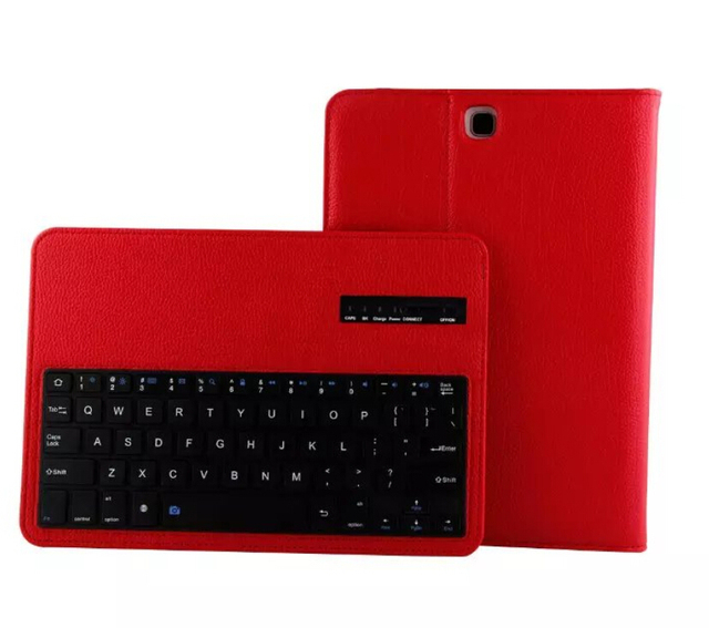 Wireless Bluetooth Keyboard Cover For Galaxy Tab A 9.7 inch Tablet SM-T550  T551 T555 P550 Tablet