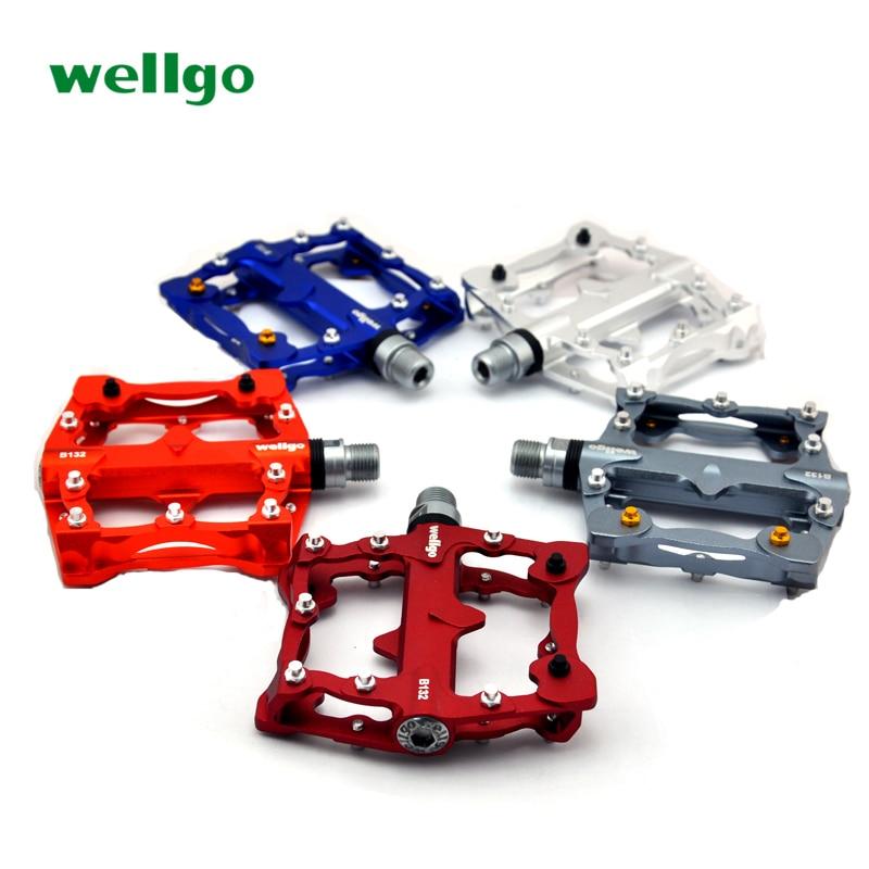 NEW Wellgo B132 Bicycle Parts Aluminum Alloy BMX Bike Pedal