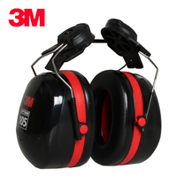 3M H10P3E Earmuffs Helmet hanging ear cups Hearing Conservation Anti noise Shooting Outdoor Labor Protector for Drivers/Workers