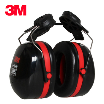3M H10P3E Earmuffs Helmet hanging ear cups Hearing Conservation Anti-noise Shooting Outdoor Labor Protector for Drivers/Workers