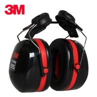 Protetor exterior do trabalho do tiro do anti ruído da conservação da audição dos copos da orelha de suspensão do capacete dos earmuffs de 3m h10p3e para motoristas/trabalhadores Protetor auricular     -