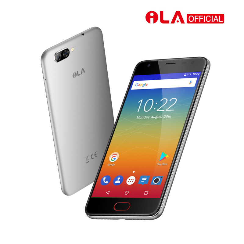 Echte iLA D1 4g Android Handys 2 gb 16 gb MTK6737T Quad Core 1280x720 HD 2 zurück & 1 vorne kameras Smartphone Entsperrt Dual Sim