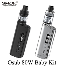 Digital Cigarette Equipment SMOK Osub 80W Child Equipment Vape Field Mod Vaporizer E Cigarette Hookah Mech Mod with TFV8 Child Tank S052