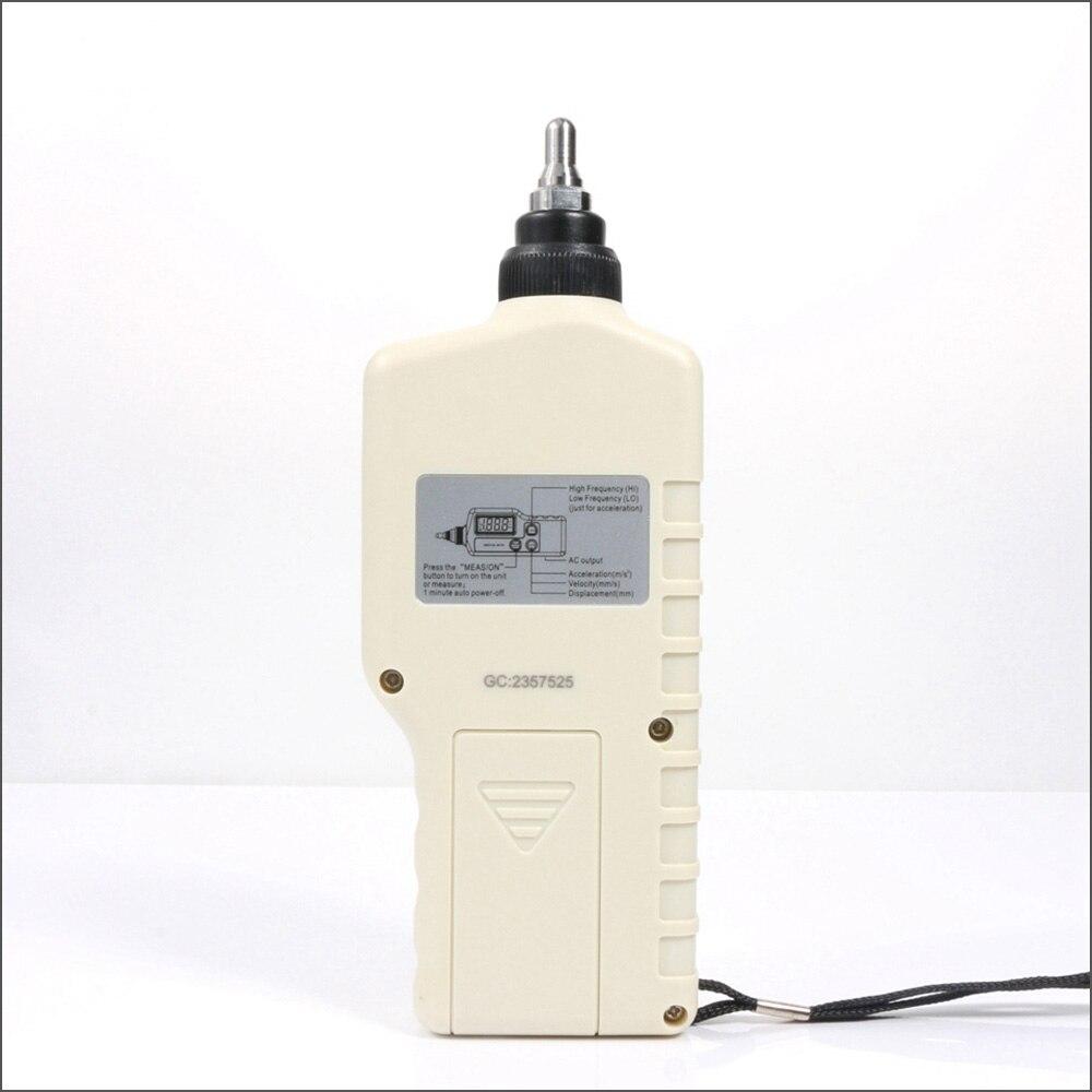 Analyseur De Vibration BENETECH appareil De mesure De Vibration numérique sonde Analizador testeur De Vibraciones portable GM63A vibrateur - 5