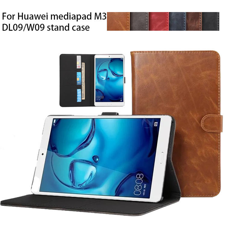High quality PU Leather Case cover For Huawei MediaPad M3 8.4 inch Tablet PC Protective Case For Huawei M3 BTV-W09 BTV-DL09 nillkin protective pu leather pc case cover for huawei honor 3x g750 black