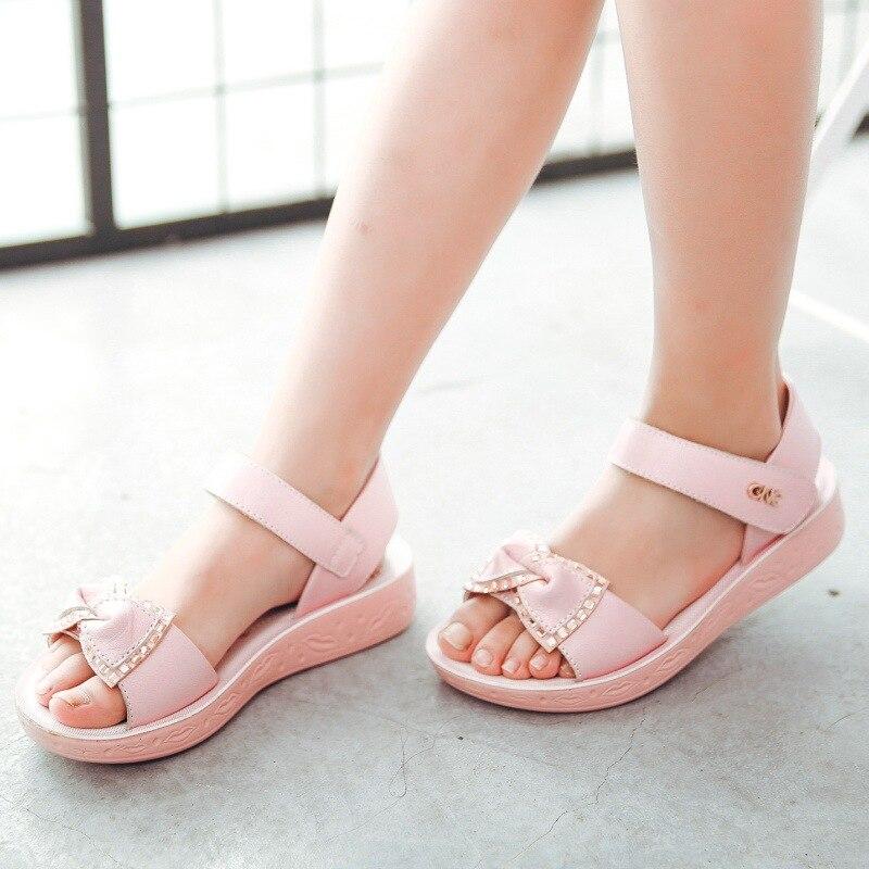 Kadingtong Letnie dziecięce buty dla dziewczynki Księżniczka Party - Obuwie dziecięce - Zdjęcie 4