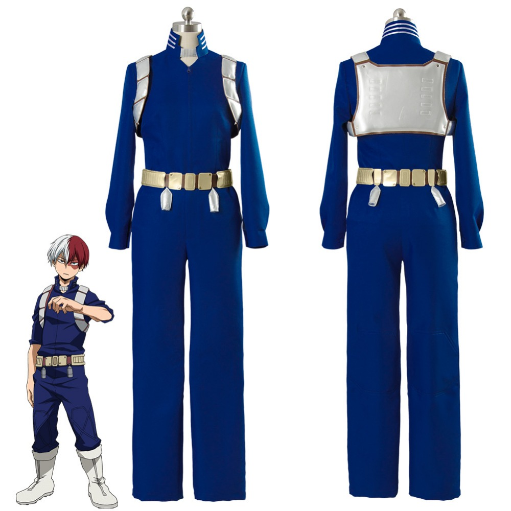Boku no Hero Academia Cosplay Costume My Hero Academia Shoto Shouto Todoroki Cosplay Costume Training Suit