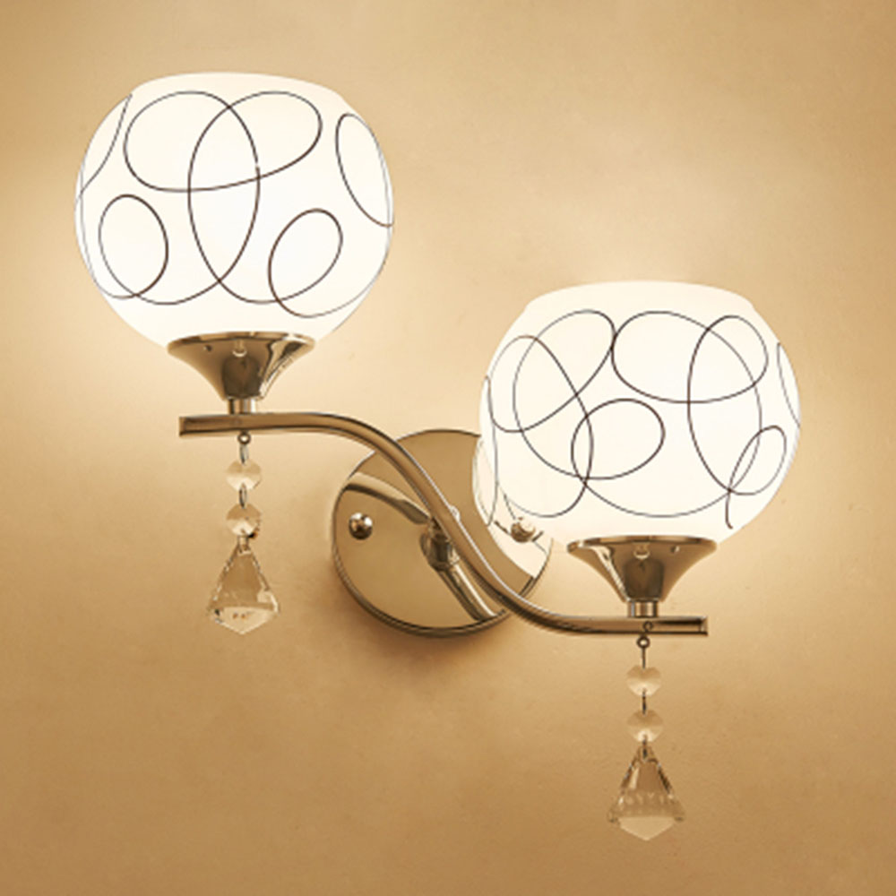 Buy contemporary crystal wall sconces and get free shipping on ...