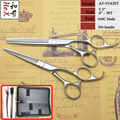 Free case! hair shears 5.5 set Professonal hair styling Japanese 440C scissors sets