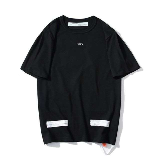 2c9f3082 19SS OFF-WHITE OW Basic Doodle Sketch Bubble Arrow Short Sleeve T-Shirt