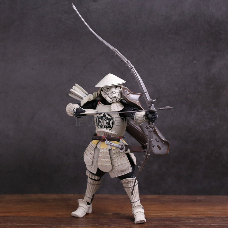 Star Wars Yumiashigaru Stromtrooper PVC Action Figure Collectible Model Toy playarts kai star wars stormtrooper pvc action figure collectible model toy