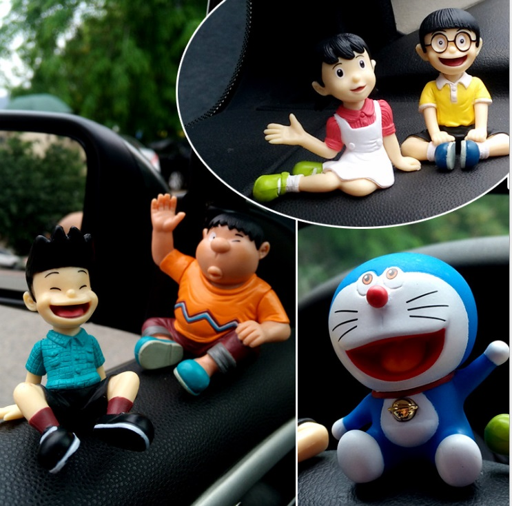Cartoon Doraemon Action Figure toy Childhood Partners Display Figurines Family Together Stand By me DIY Collectible toy Oyuncak