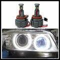 LED Angel Eyes Lâmpada H8 80 W LEVOU marcador para BMW E87 E82 E92 E70 E90 E91 E60 E61 E63 E64 X5 X6 carro LEVOU Marcador angel eyes luz lâmpada